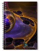 Cell Forms 2 Spiral Notebook