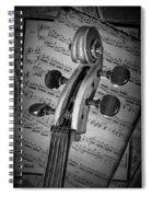 Cello Classic Art Spiral Notebook
