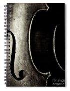 Cello Piece Spiral Notebook