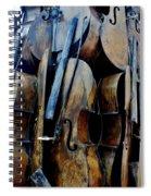 Cellos 6 Spiral Notebook