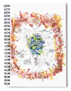 Cellular Generation Spiral Notebook