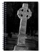 Celtic Cross 3d22026 Spiral Notebook