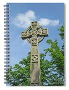 Celtic Cross Spiral Notebook