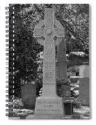 Celtic Cross - Charleston South Carolina Spiral Notebook