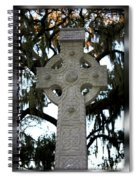 Celtic Cross In Savannah Spiral Notebook
