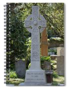 Celtic Cross Of Charleston  Spiral Notebook