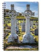 Celtic Crosses Spiral Notebook