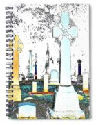 Celtic Crosses Spiral Notebook