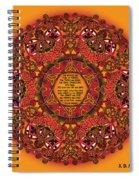 Celtic Fall Fairy Mandala Spiral Notebook