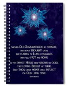 Celtic New Year Spiral Notebook
