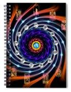 Celtic Tarot Moon Cycle Zodiac Spiral Notebook