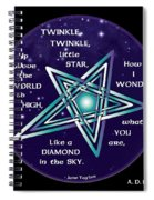 Celtic Twinkle Twinkle Spiral Notebook