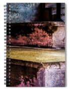 Cement Steps Number One Spiral Notebook