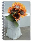 Cemetary Flowers 1 Spiral Notebook