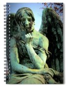 Cemetery Angel 2 Spiral Notebook