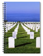 Cemetery At Waterfront, Fort Rosecrans Spiral Notebook