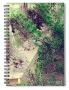 Cemetery Bench II Spiral Notebook