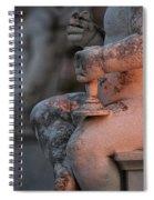 Cemetery Cherub - Hvar Croatia Spiral Notebook