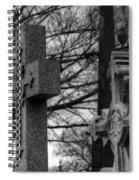 Cemetery Crosses Spiral Notebook