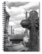 Cemetery Graves Spiral Notebook