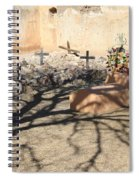 Cemetery Tumacacori Mission Spiral Notebook