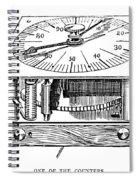 Census Machine, 1890 Spiral Notebook