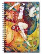 Centaur In Love Spiral Notebook