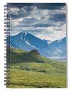 Center Of The Valley Spiral Notebook