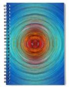 Center Point - Abstract Art By Sharon Cummings Spiral Notebook