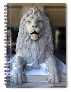Center Street Lion Spiral Notebook