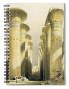Central Avenue Of The Great Hall Of Columns Spiral Notebook