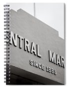 Central Market Spiral Notebook