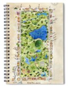 Central Park And All That Surrounds It Spiral Notebook