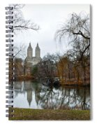Central Park And San Remo Building In The Background Spiral Notebook