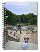 Central Park - Bethesda Fountain Spiral Notebook