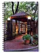 Central Park Boathouse Spiral Notebook