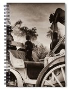Central Park Carriage Ride - Antique Appeal Spiral Notebook