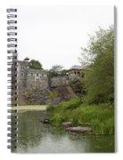 Central Park Castle Belvedre Spiral Notebook