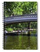 Central Park Day 2 Spiral Notebook
