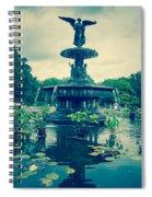 Central Park Fountain Spiral Notebook
