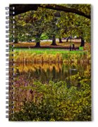 Central Park In Autumn - Nyc Spiral Notebook