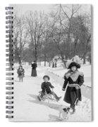 Central Park In New York Spiral Notebook