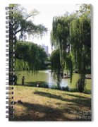Central Park In The Summer Spiral Notebook