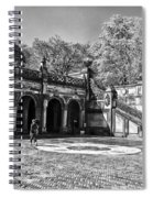 Central Park - Near Bethesda Fountain Spiral Notebook