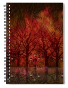 Central Park Ny - Featured Artwork Spiral Notebook
