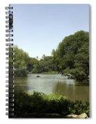 Central Park Pond Spiral Notebook