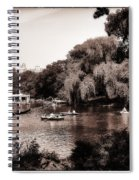 Central Park Rowing - New York City Spiral Notebook