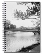 Central Park The Lake Spiral Notebook