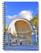 Central Park's Naumburg Bandshell Spiral Notebook
