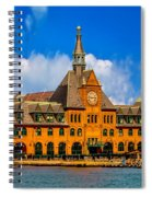 Central Railroad Of New Jersey Terminal Spiral Notebook